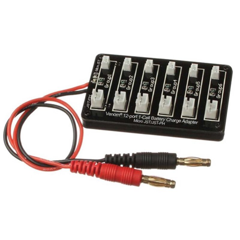 Charge Adapter: 12 Port, 1S