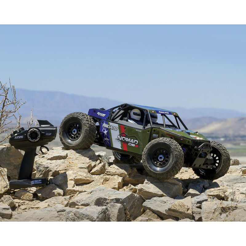 1/8 Limited Edition Nomad DB8 4WD Buggy Brushless RTR, Green