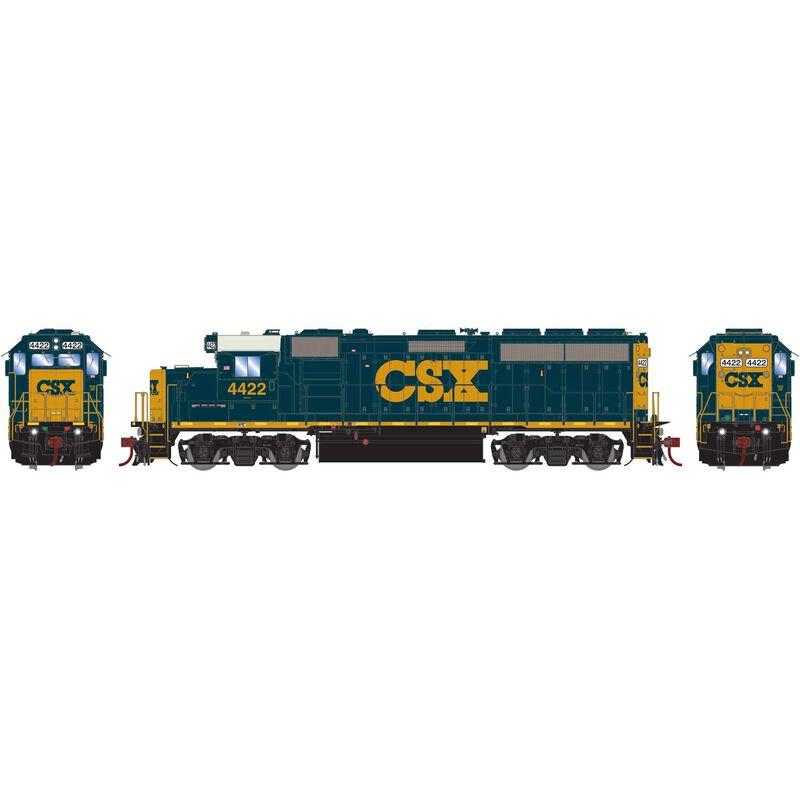 HO GP40-2 CSX #4422