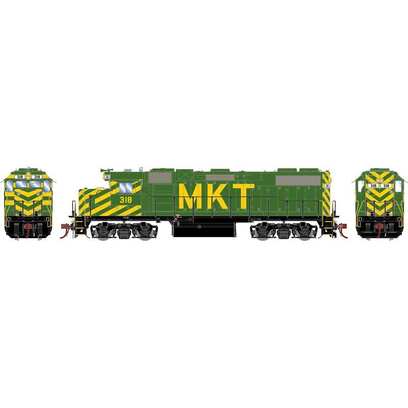 HO GP38-2, MKT #318
