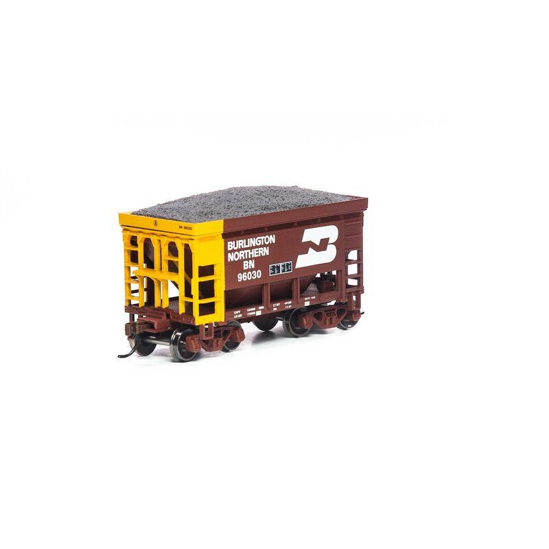 HO 24' Ribbed Ore Car with Load BN #96030