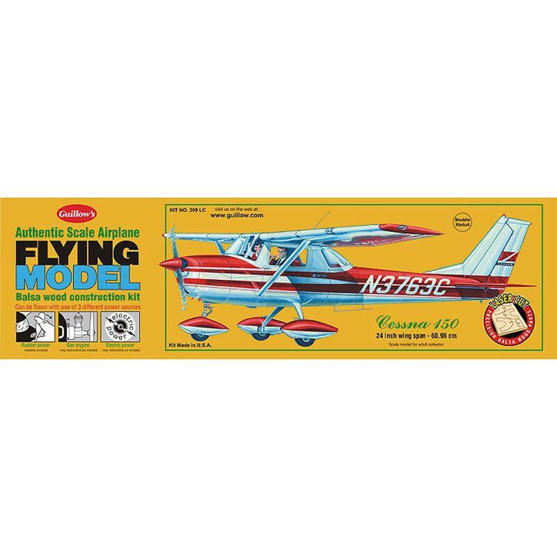 "Cessna 150 Laser Cut Kit, 24"""