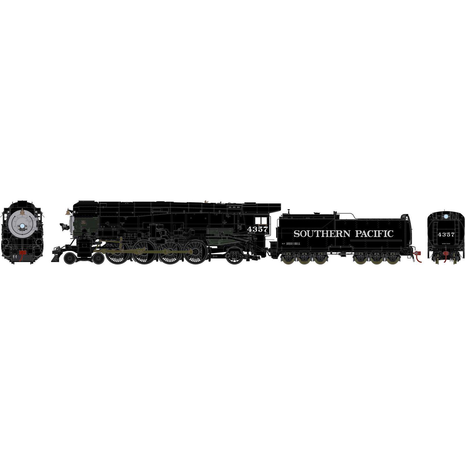 HO 4-8-2 MT-4, SP/Skyline Casing Black #4357