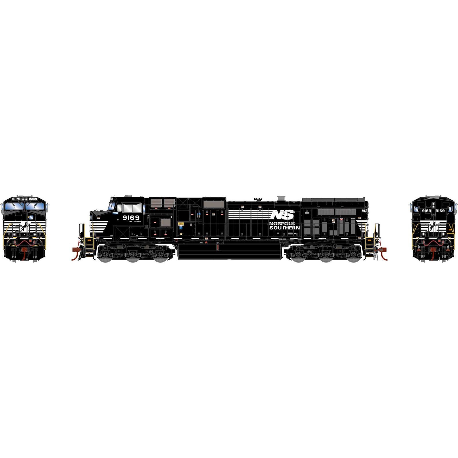 HO G2 Dash 9-44CW with DCC & Sound, NS #9169