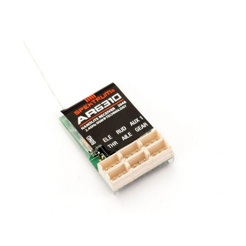 AR6310 DSMX Nanolite 6Ch Rx, Air