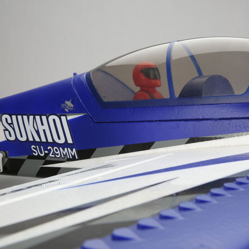 Sukhoi SU-29MM 1.1m BNF Basic with AS3X