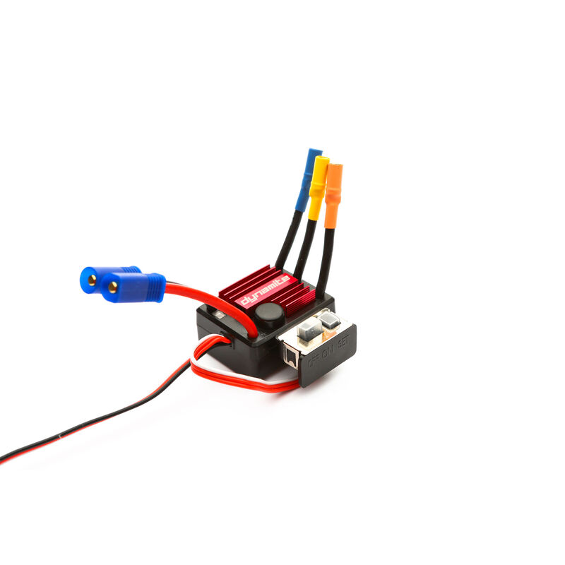 Tazer Mini Brushless Waterproof ESC: 25A
