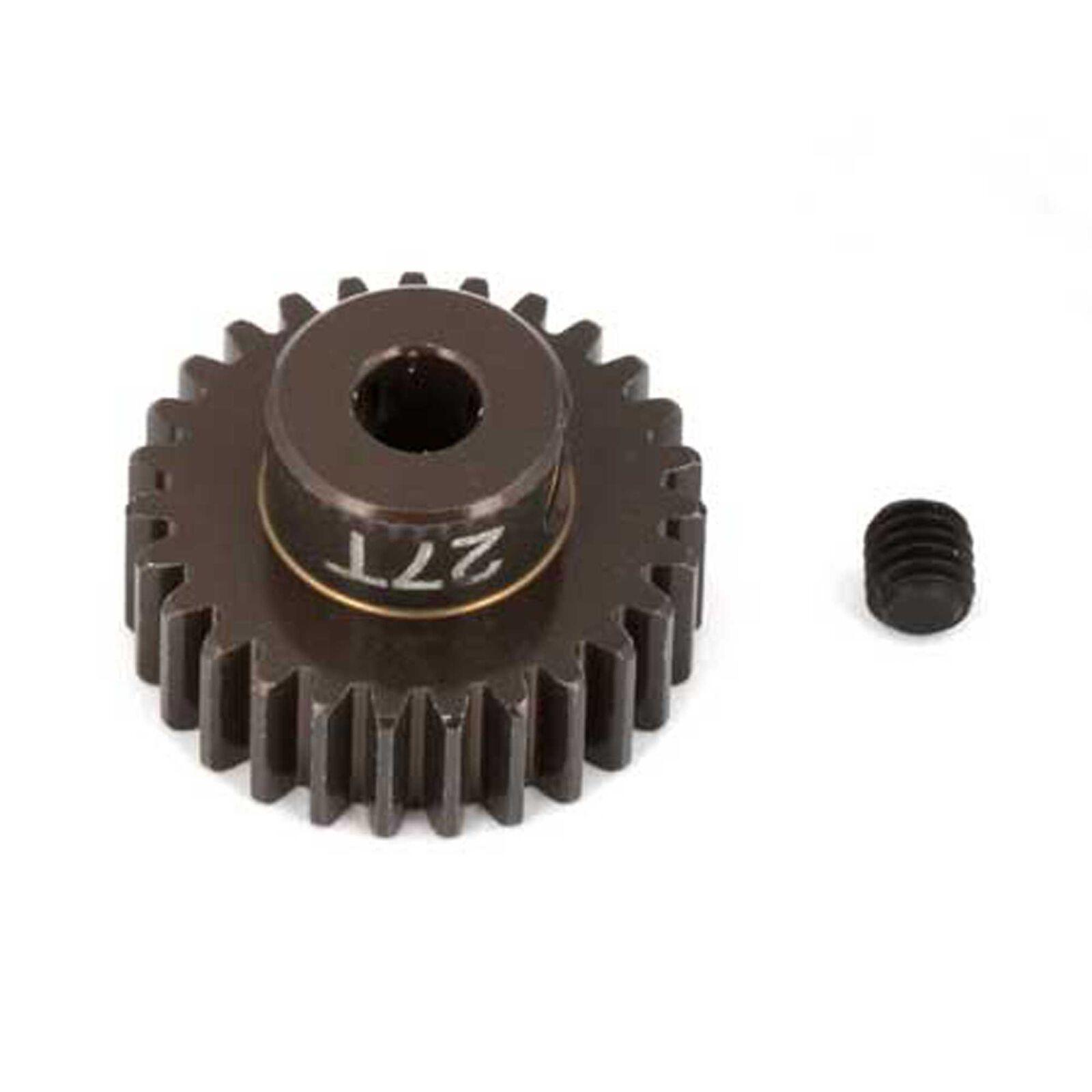 Factory Team Aluminum Pinion Gear, 27T, 48P, 1/8 shaft