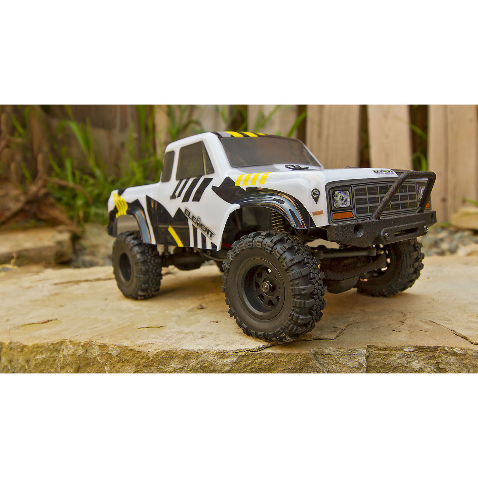 1/24 Enduro24 Sendero Trail Truck RTR, Black/Yellow