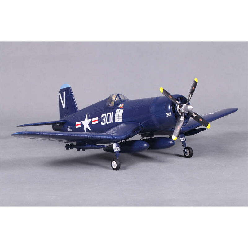 F4U Corsair V2 Blue RTF, 800mm