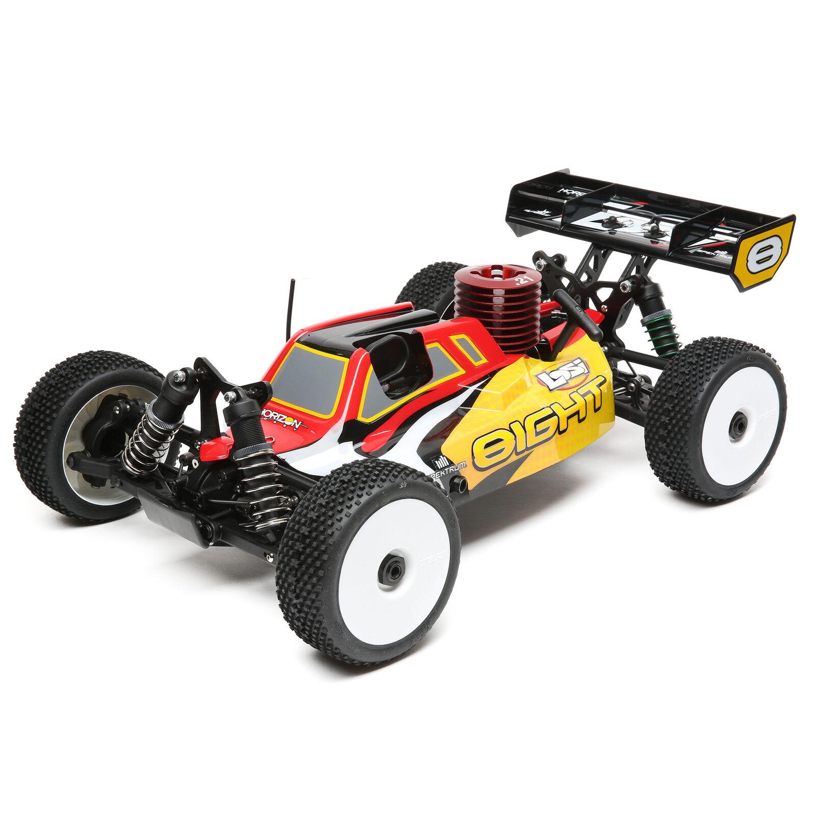 8IGHT Nitro RTR: 1/8 4WD Buggy