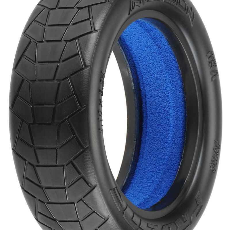 """Front Inversion 2.2"""" 2WD M4 Tire  Indoor Buggy (2)"""