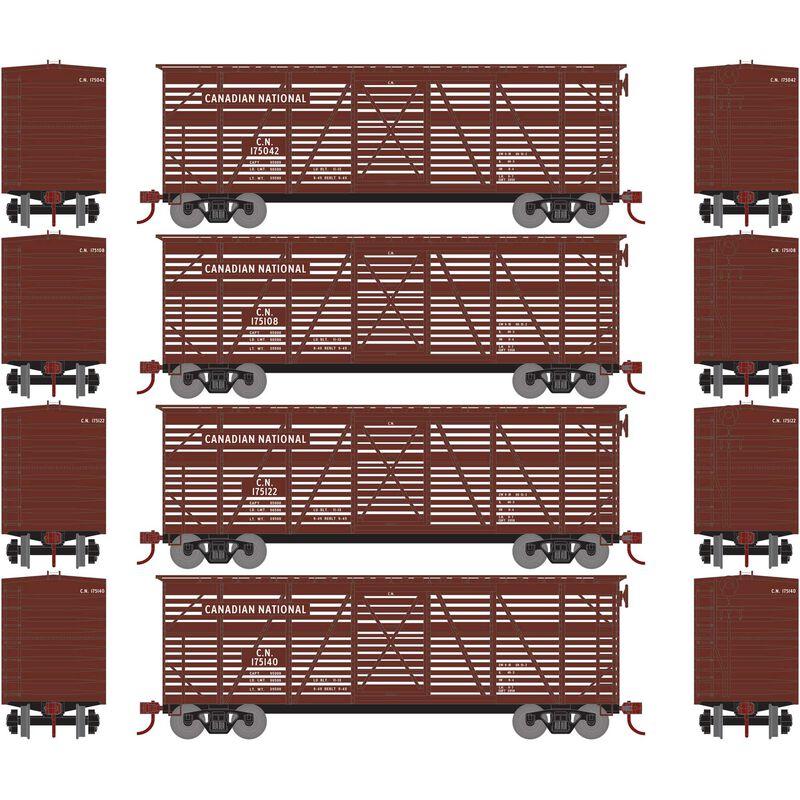 HO 40' Stock Car CN (4)