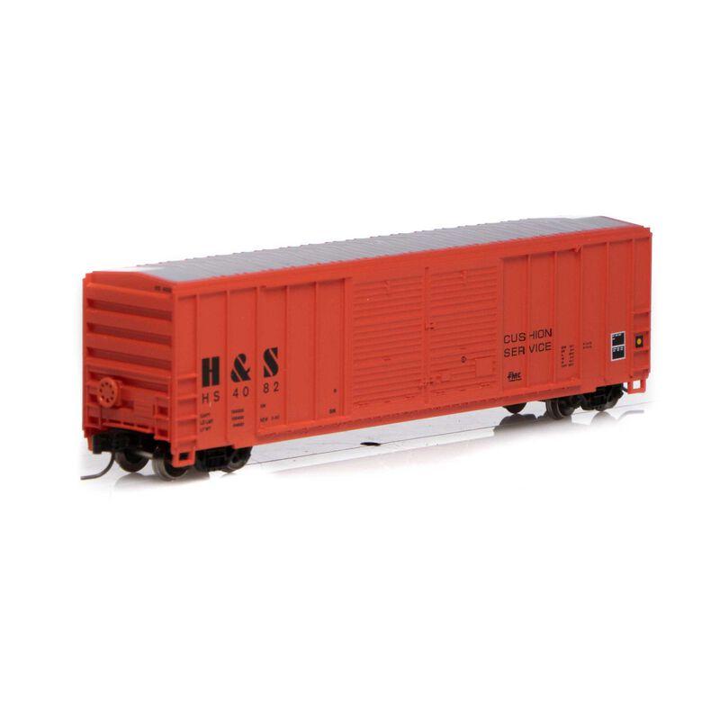 N 50' FMC Centered Double Door Box H&S #4082
