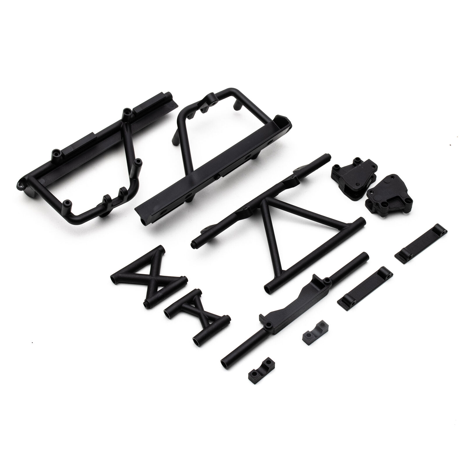 Cage Supports Battery Tray (Black)  RBX10
