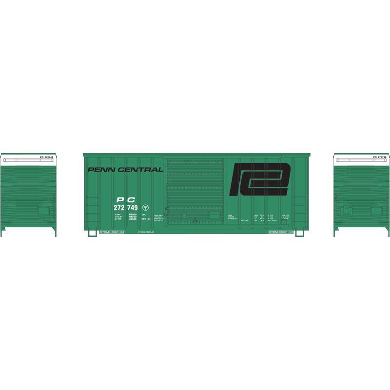 HO 40' High Cube Outside Braced Box, PC #272749