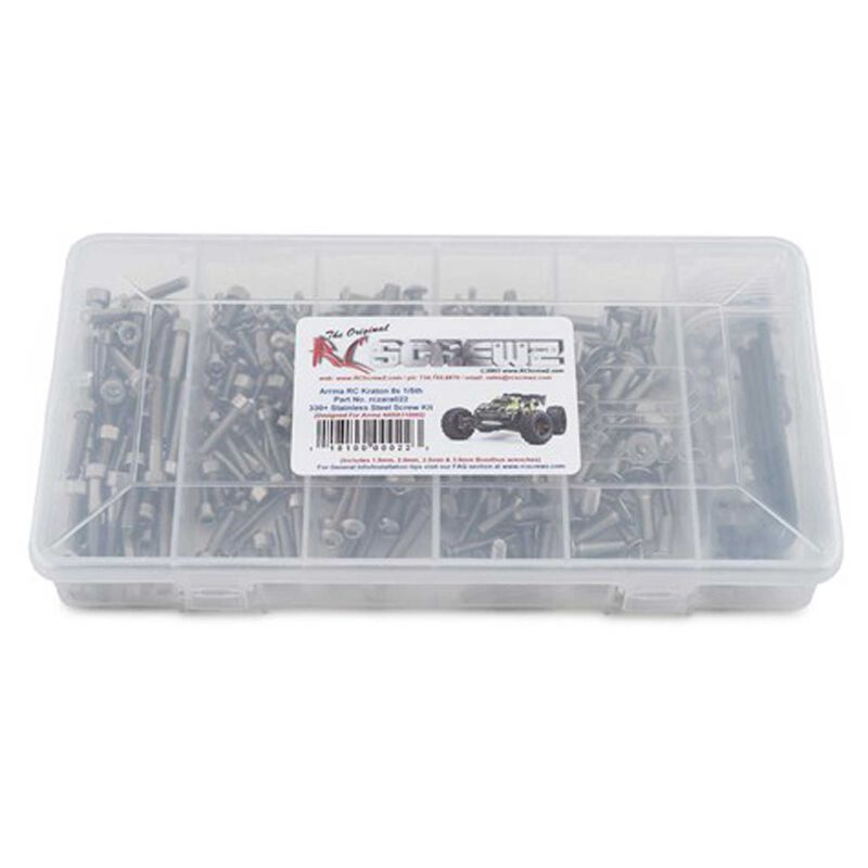 Stainless Steel Screw Kit: TRA TRX-6 Crawler 1 10