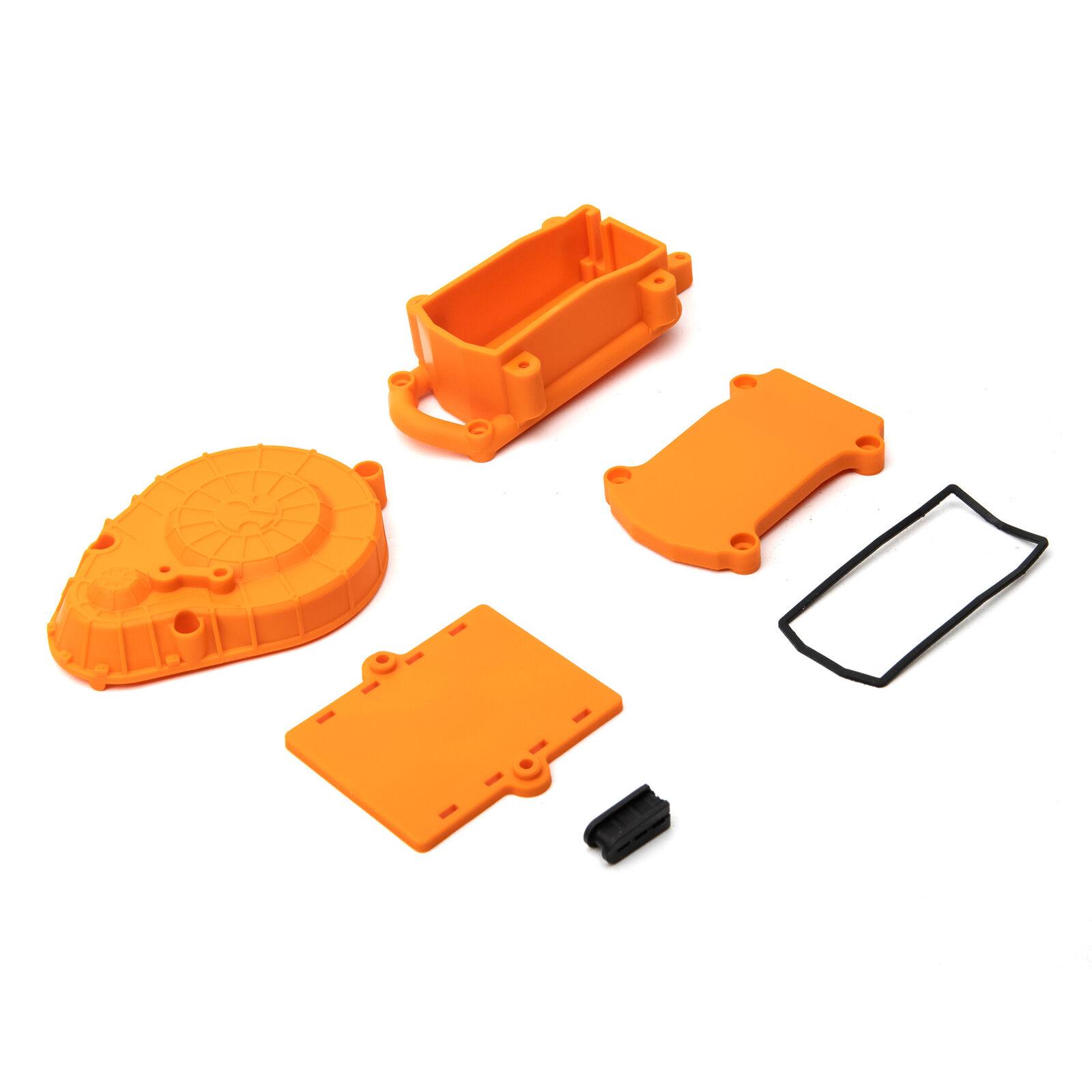 Cage Radio Box Spur Cover (Orange)  RBX10