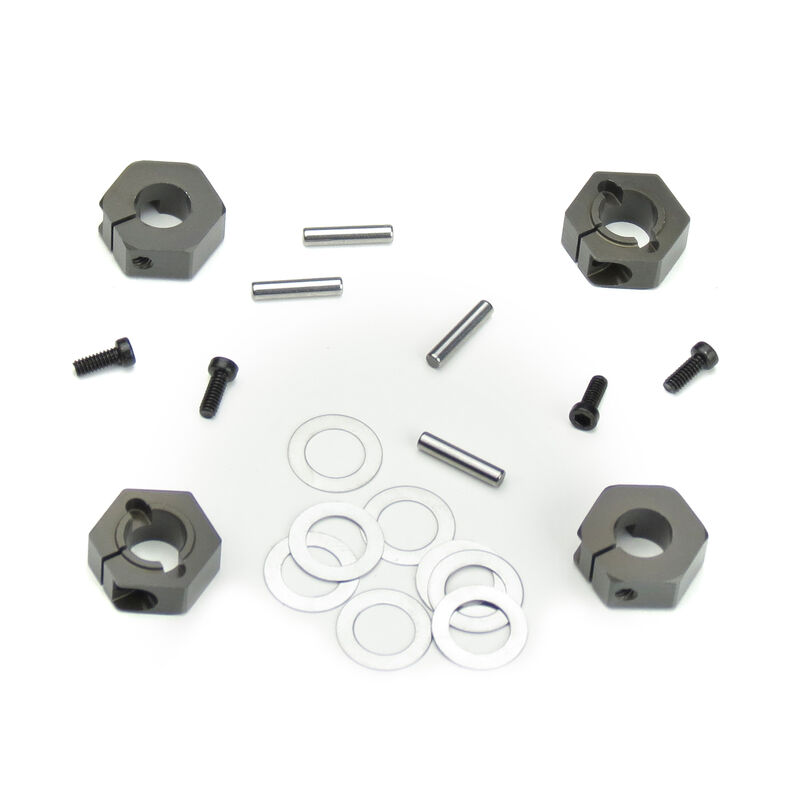 12mm Aluminum Hex Adapters for M6 Driveshafts