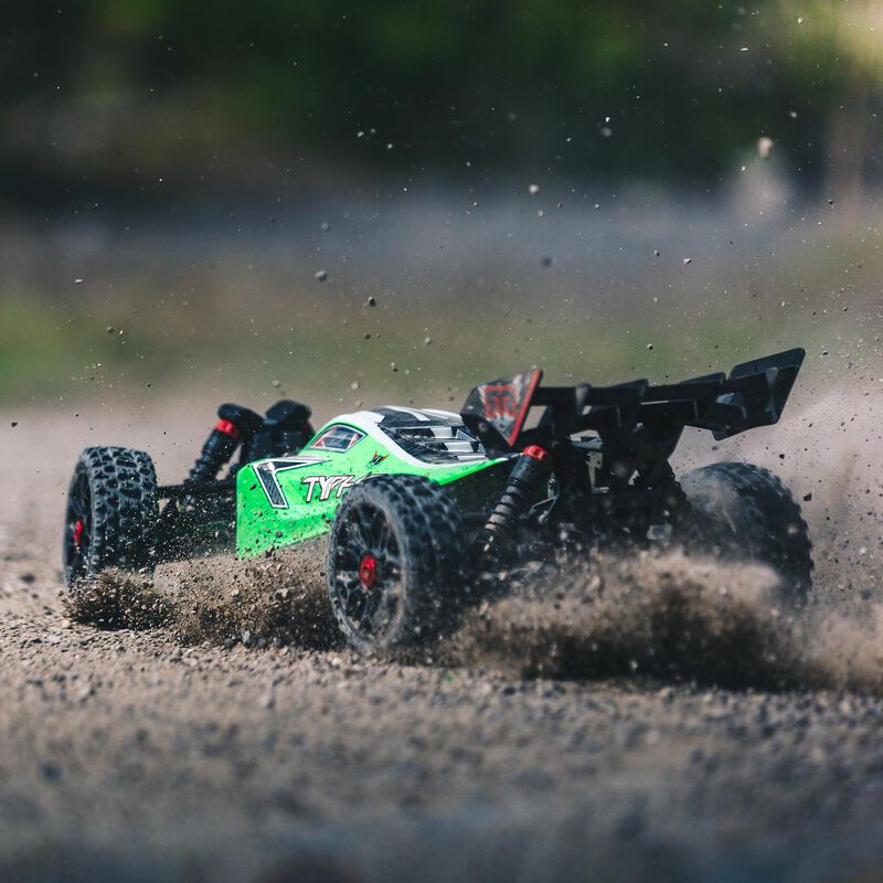 1/8 TYPHON MEGA 550 Brushed 4WD Speed Buggy RTR, Green