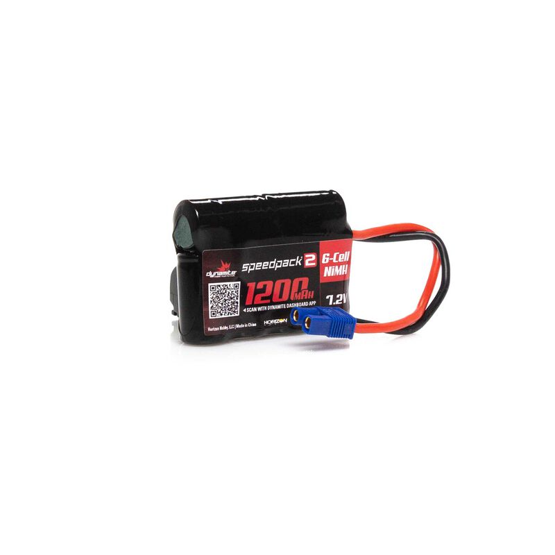 Speedpack2 7.2V 1200mAh 6C NiMH, EC3, MINI-S