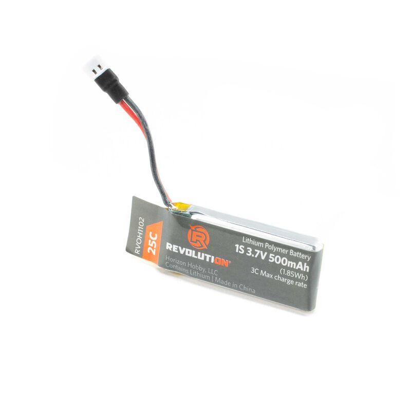 3.7V 500mAh 25C Battery: Invezo