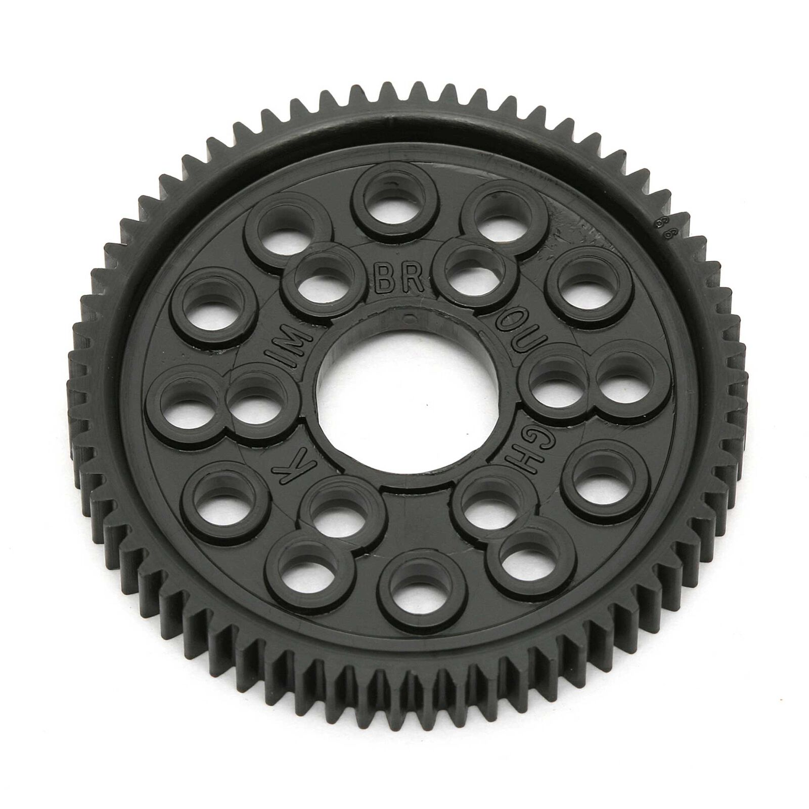 48 Pitch Spur Gear, 66T: TC3-7.1/RC10/RC12