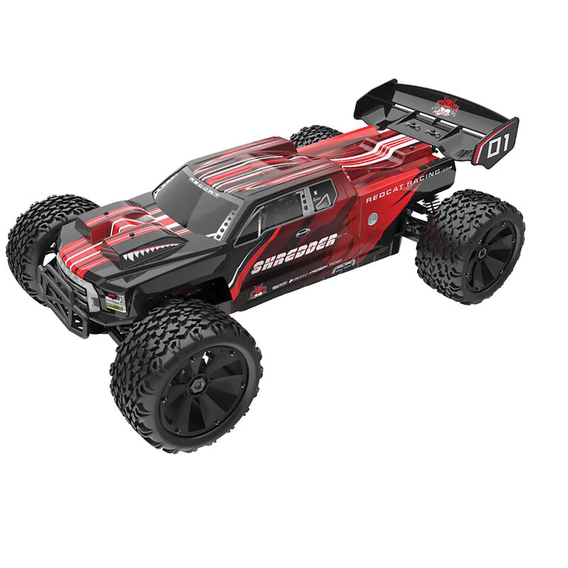 1/6 Shredder 4WD Truck Brushless RTR, Red