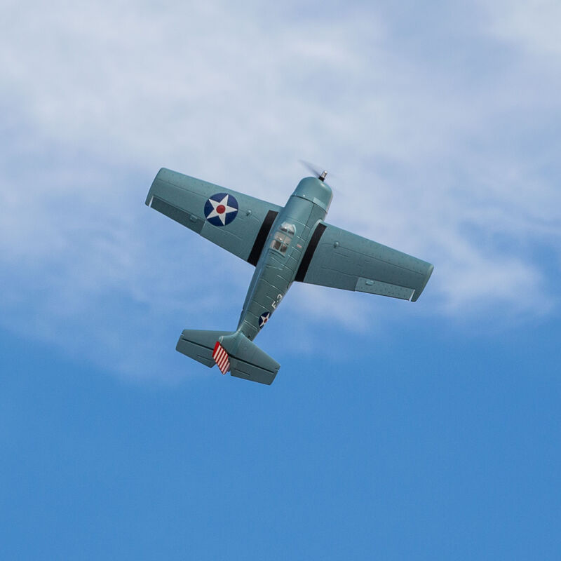 F4F Wildcat 1.0m BNF Basic with AS3X and SAFE Select