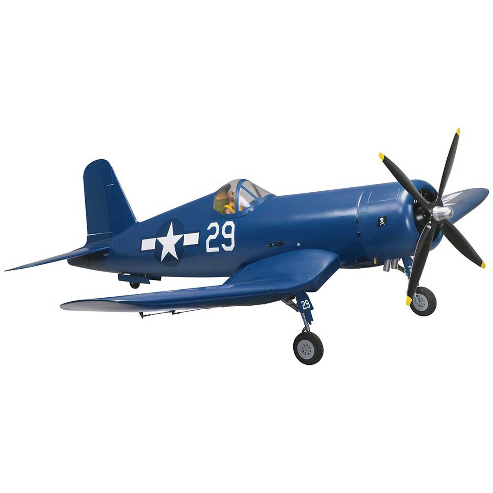 "Giant F4U Corsair 50-55cc Gas ARF, 86.5"""