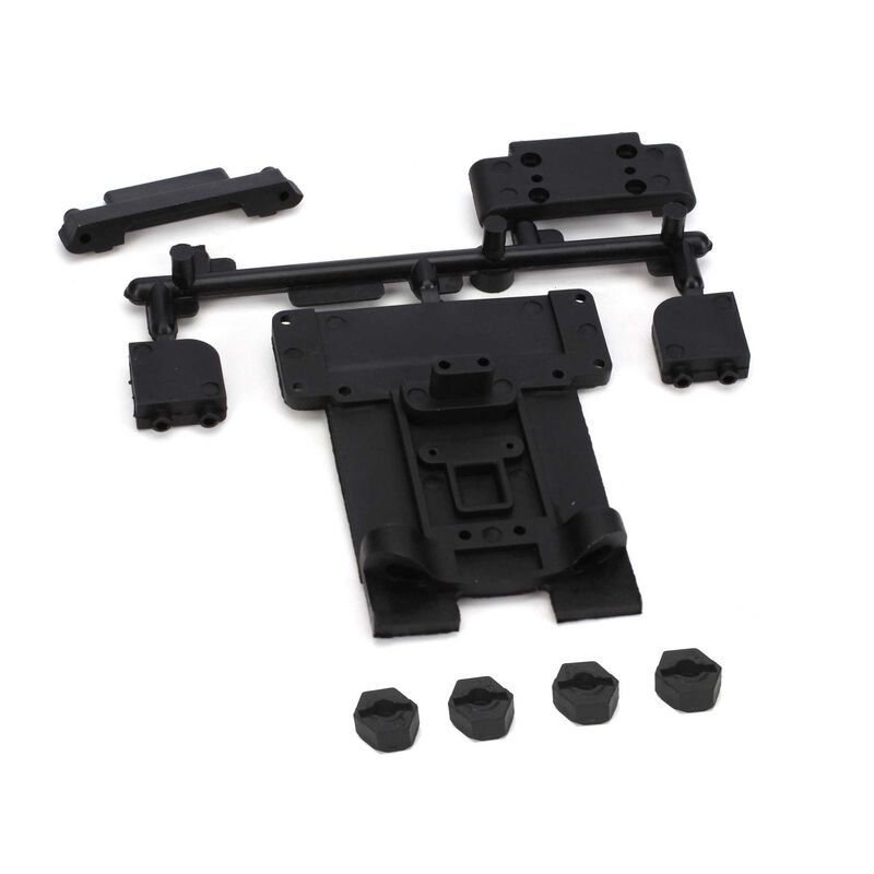 Front/Rear Suspension Mount Set: 1/10 2WD Circuit, Boost