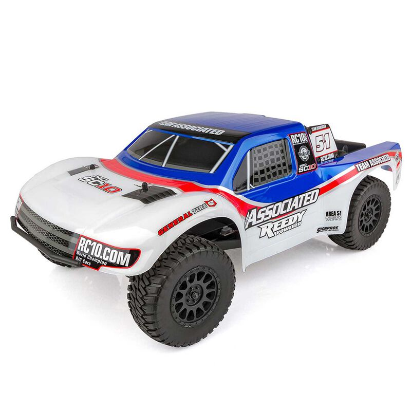 1/10 ProSC10 AE Team 2WD SCT Brushless RTR LiPo Combo