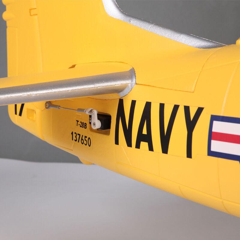 T-28D Trojan V4 Yellow PNP, 1400mm