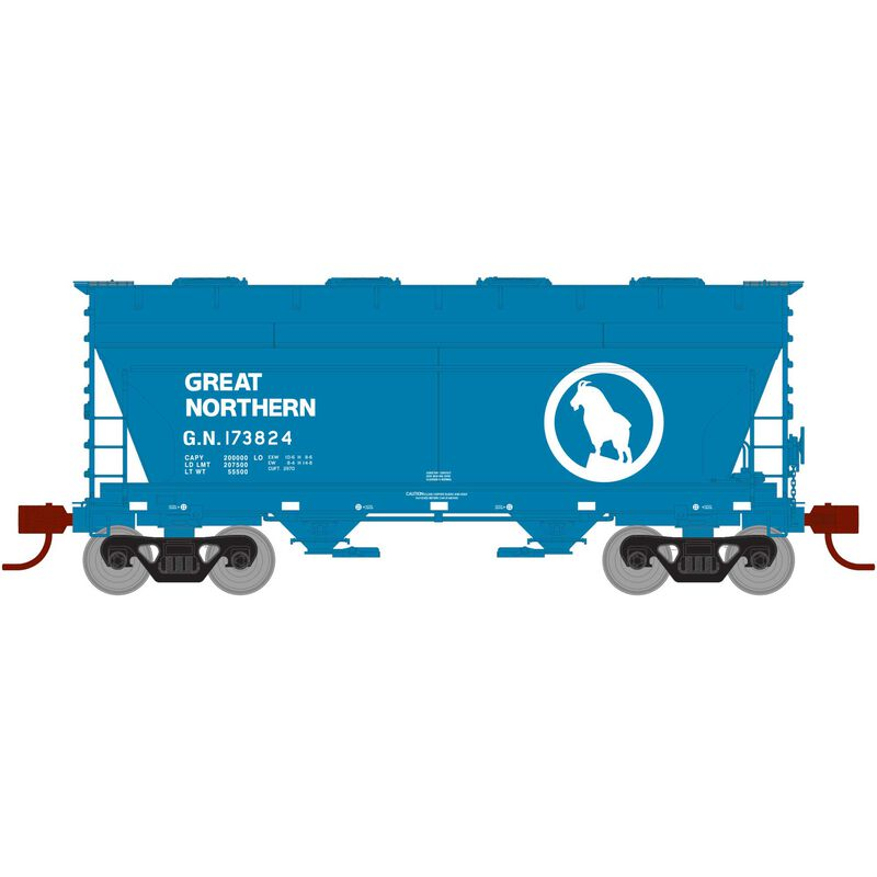 N RTR ACF 2970 Covered Hopper, GN #173824