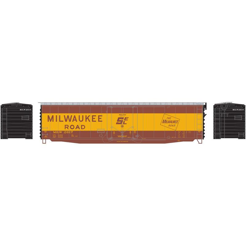 N 50' PS-1 Plug Door Smooth Side Box MILW #2617