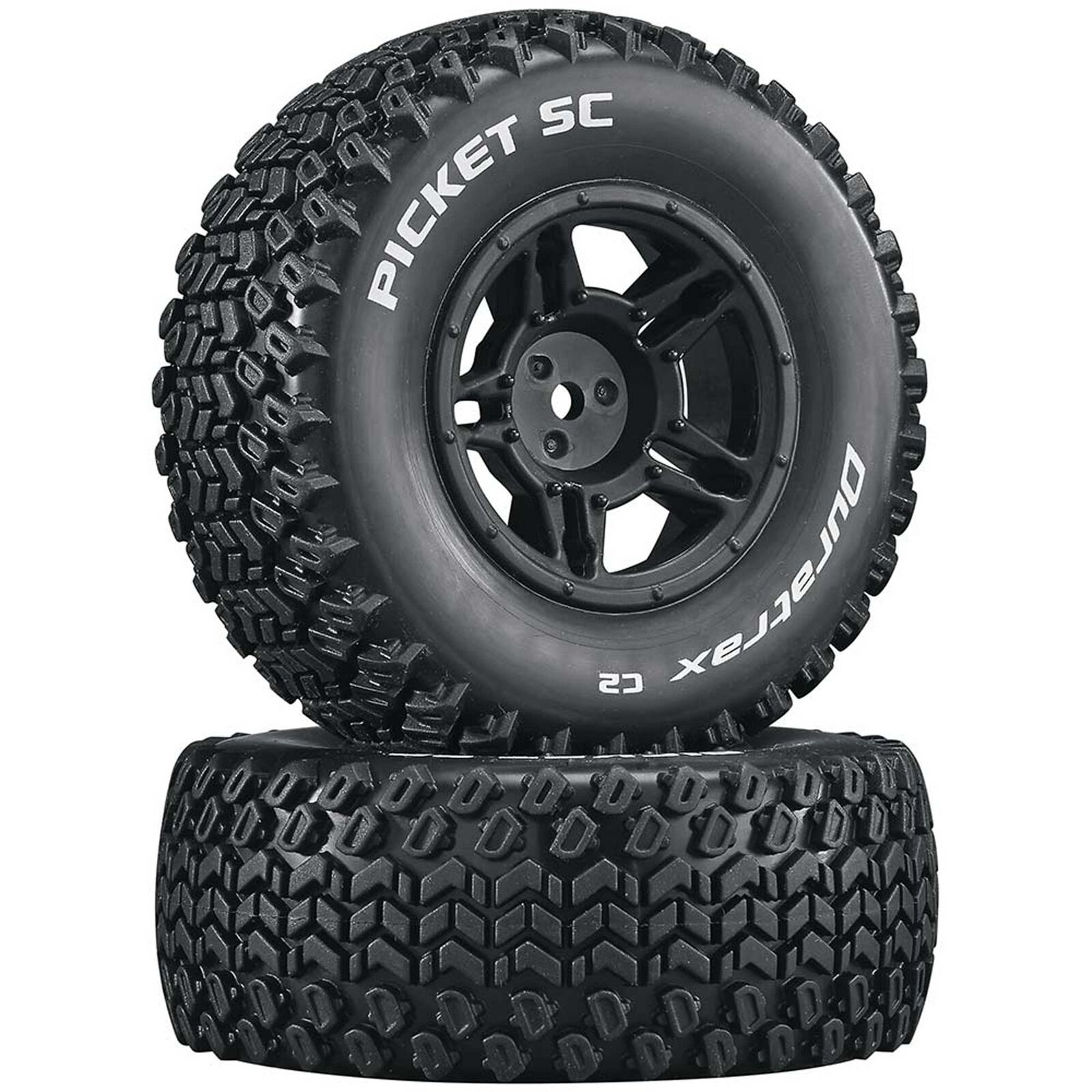 Picket SC C2 Mounted Tires: Slash 4x4 Blitz Front Rear (2)