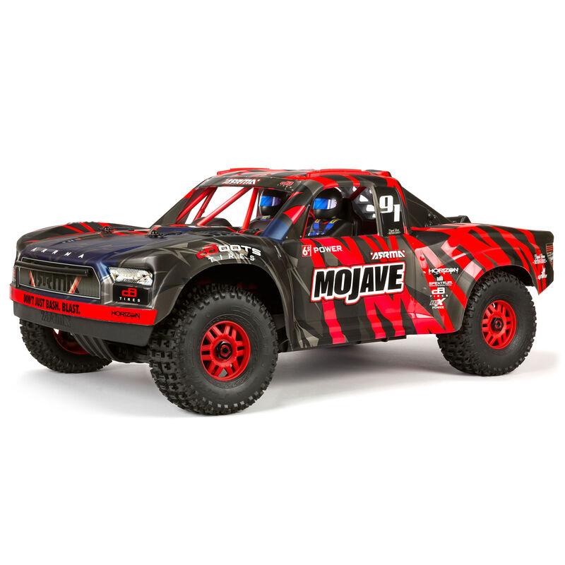 1/7 MOJAVE 6S BLX 4WD Brushless Desert Truck RTR, Red/Black