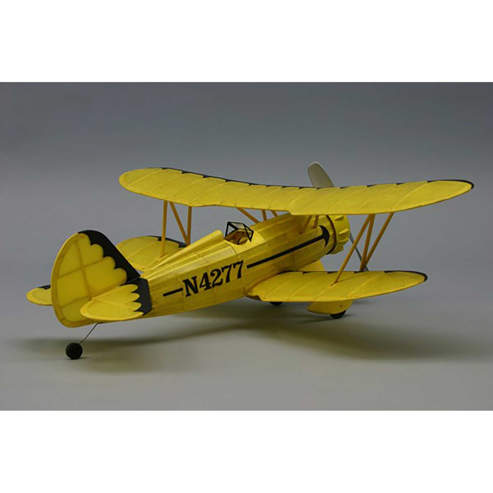 "Waco YMF-5 Rubber Powered Kit, 18"""