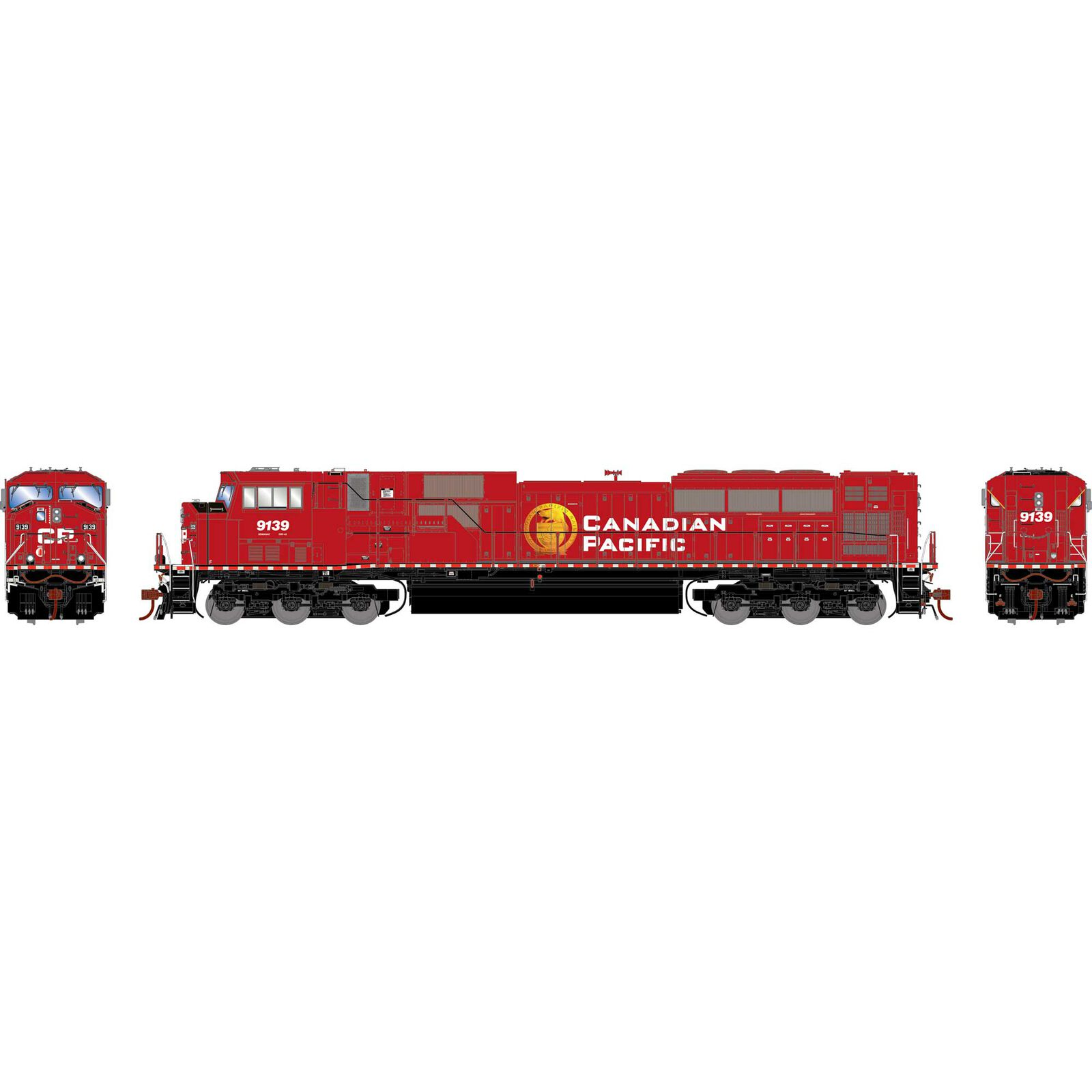 HO G2 SD90MAC with DCC & Sound, CPR #9139