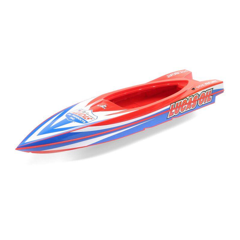 Hull, Lucas Oil: 17-inch Power Boat Racer