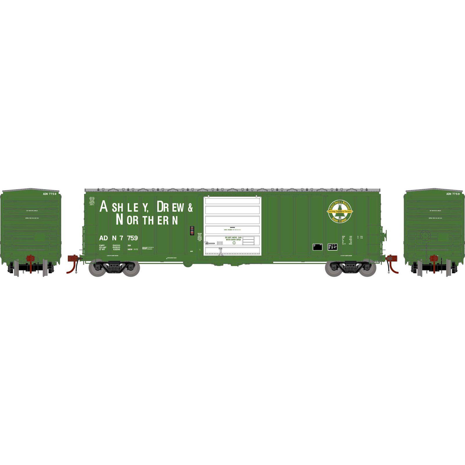 HO 50' SIECO Box, AD&N #7759