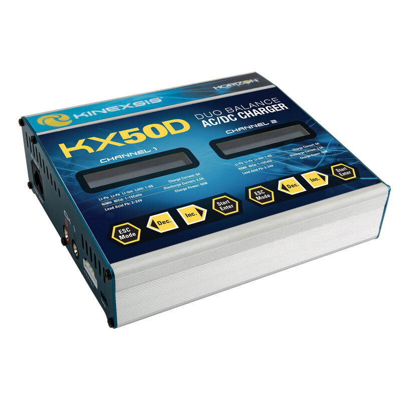 KX50D Duo 2 x 50W AC/DC Charger