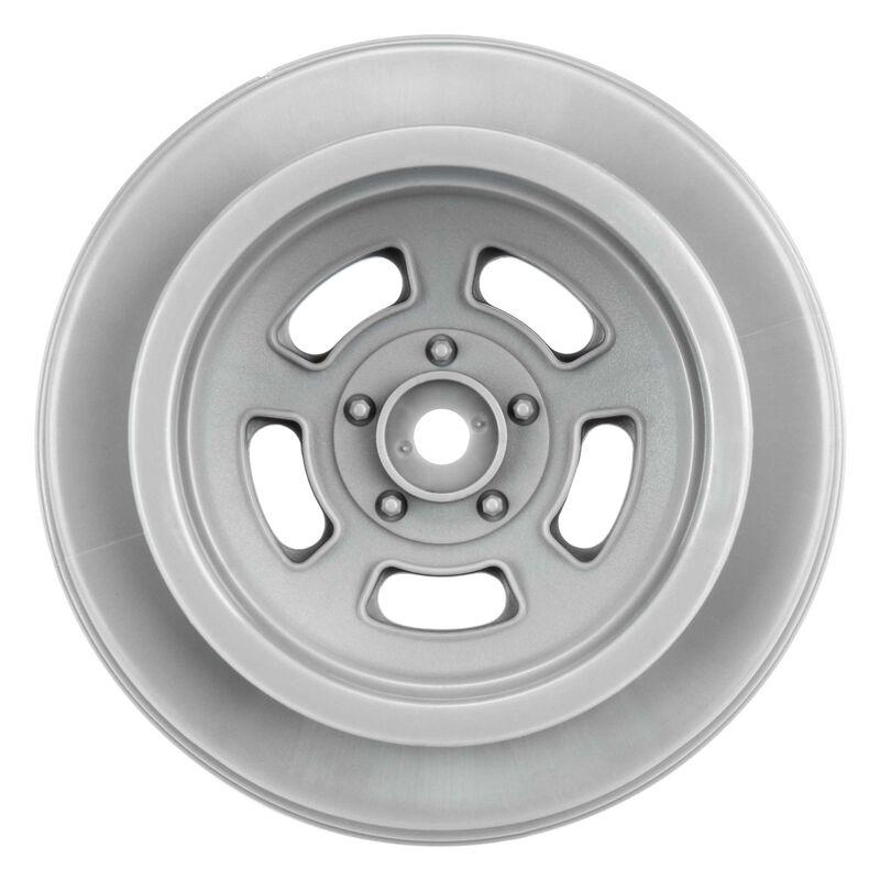 "1/10 Slot Mag Drag Spec 2.2""/3.0"" Wheels, Stone Gray (2): Slash 2WD Rear,  Slash 4X4 Front/Rear, DR10 Rear"