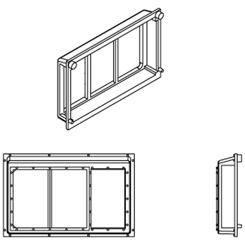 HO All-Weather Window, 3 Pane (6)