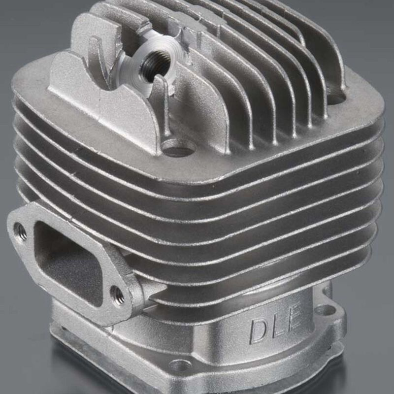 Cylinder w Gasket: DLE-120
