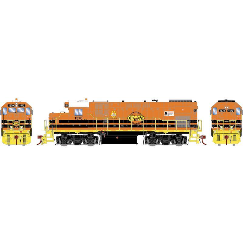 HO GP15-1 w/DCC & Sound, CFNR/G&W #1570