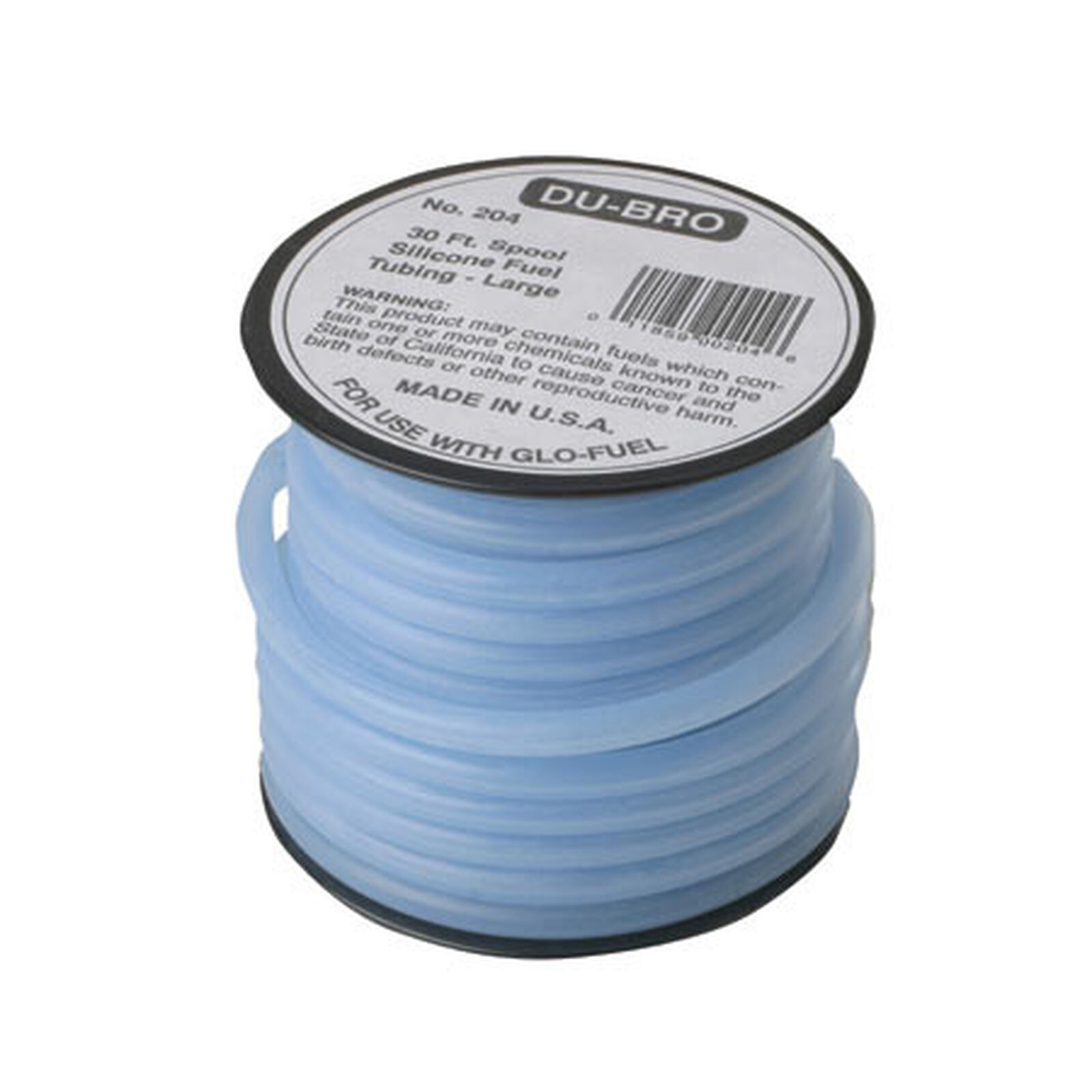 Silicone Fuel Tubing, Large, 30'