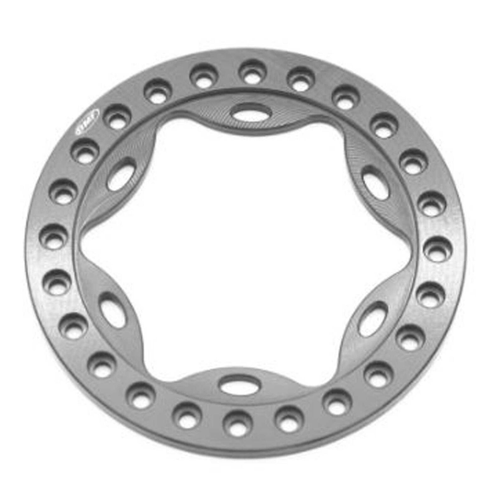 OMF 1.9 Scallop Beadlock Grey Anodized