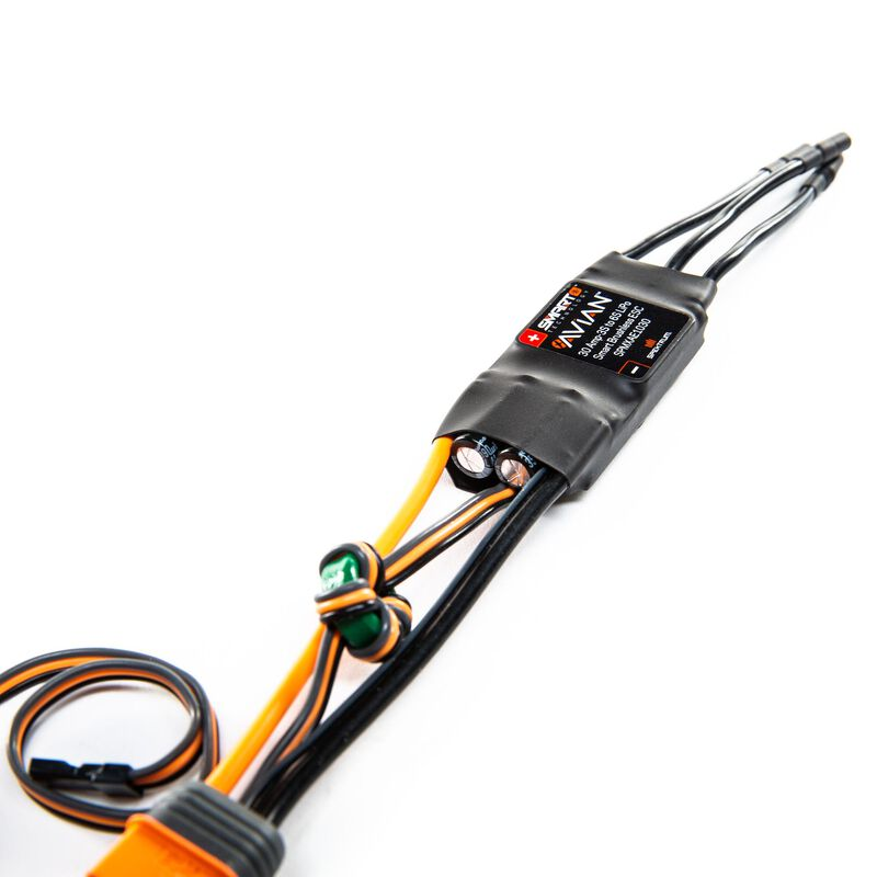 Avian 30 Amp Brushless Smart ESC, 3S-6S