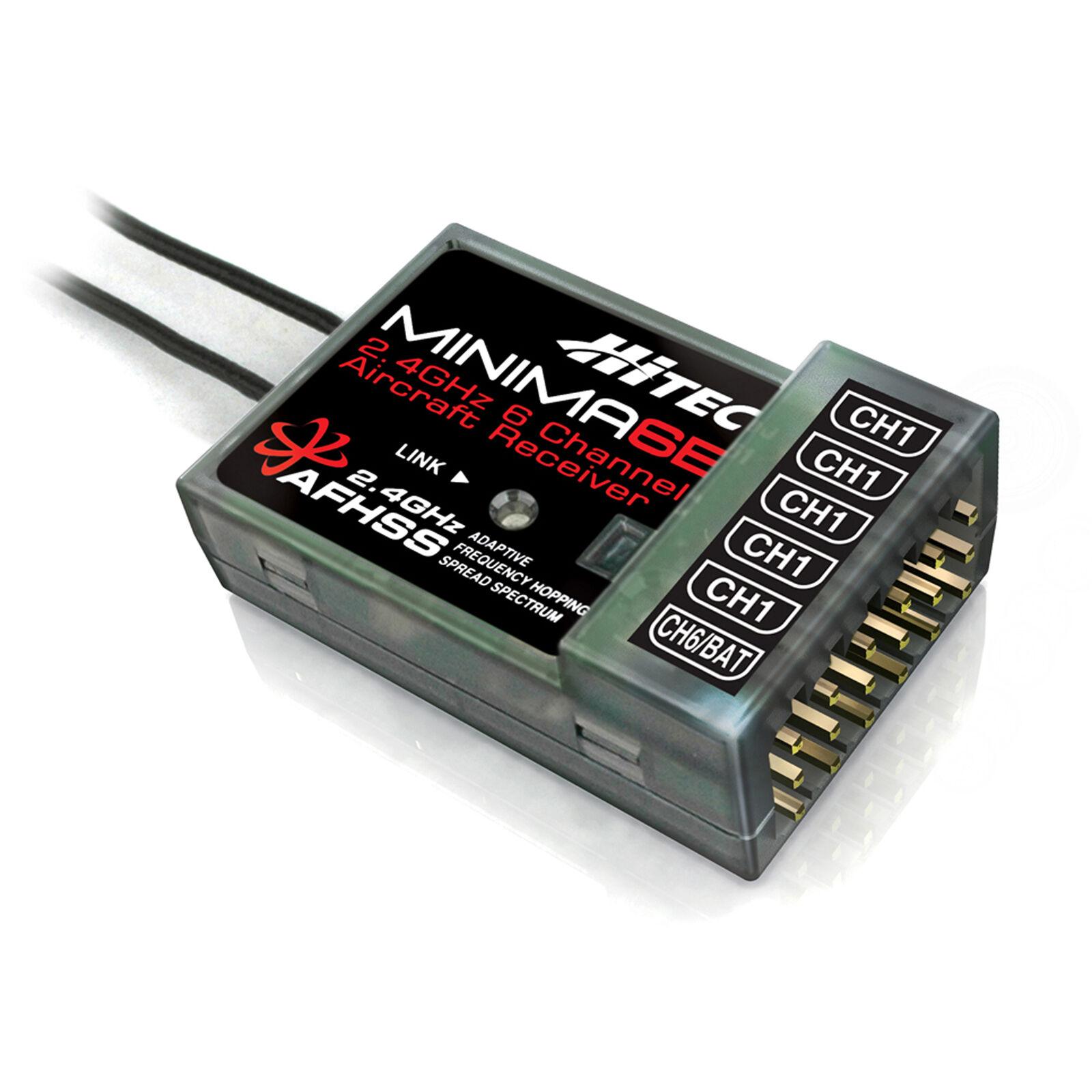 Minima 6E AFHSS 6-Channel Micro Receiver